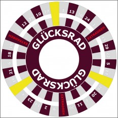 Glücksrad mit logo kaufen