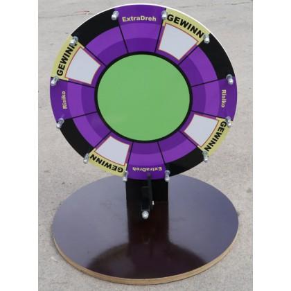 Tisch - Glücksrad 50 cm dm bedruckt kaufen